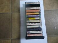 Gospel cassettes lot of 13 sound tracks and performance tapes ,Boltz, Douglass