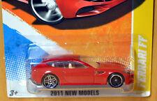 Hot Wheels Ferrari FF - [ERROR FTE front wheels] - New/Sealed/RARE