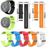 22mm Sport Silicone Cinturino da polso Bracciale Per Polar Vantage M Smart Watch