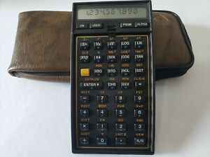 Vintage HP 41CX Hewlett Packard Calculator in good condition.