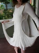 Avant Garde Couture Urban Chic Stretchy Draped Dress Long Sashes K facto 2y S/M
