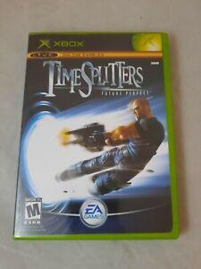 TimeSplitters: Future Perfect (Microsoft Xbox, 2005) Complete W Manual Tested