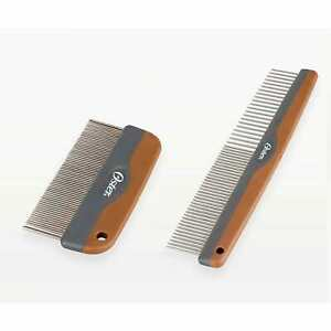 Oster Premium Dog Two Piece Comb Set Detangling Matts Shedding Tool Removes Hair