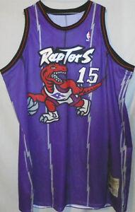 Rookie -Vince Carter- Game Used Toronto Raptors Champion NBA Basketball Jersey