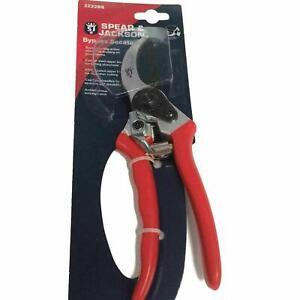 Spear & Jackson Bypass Secateurs Garden Pruners Pruning Shears Cutter 2222BS