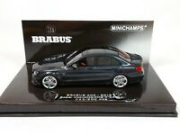 1:43 Minichamps Brabus 600 AUF Basis Mercedes-Benz AMG C 63 S 2015 Black LE 300