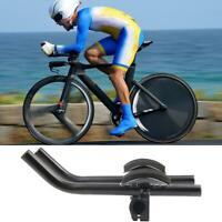Bicycle TT Bullhorn Bar Time Trial Triathlon Road Bike Rest Handlebar Adjustable