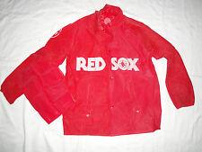 Boston Red Sox Team Rain Jacket Poncho MLB Size S