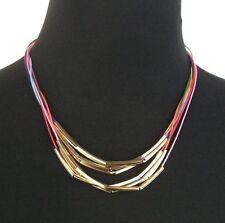 Modeschmuck-Halsketten aus gemischten Metallen