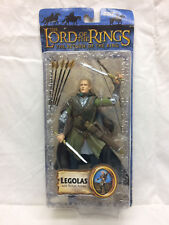 Vintage Toy Biz Lord Of the Rings Legolas w/ Rohan Armor 2003 On Card