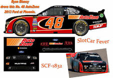CD_1832 #48 Ryan Blaney  AutoZone 2013 Mustang  1:24 Scale Decals