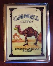 Vintage Camel Filters 3D Tin Cigarette Case Very Rare