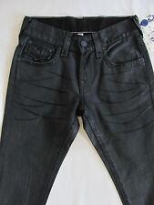 True Religion Skinny Flaps Jeans-Ascot Grey-Throttle Black- Size 27- NWT- $275