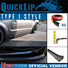Fit Universal Type 1 Quick Lip Side Skirts Rocker Panels x2 Trim EZ 100 Inch