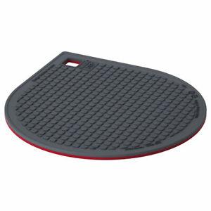 IKEA 365+ GUNSTIG pot stand, magnetic red/dark grey