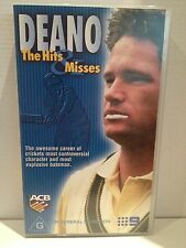 DEANO ~ THE HITS & MISSES ~ DEAN JONES ~ CRICKET ~ RARE VHS VIDEO