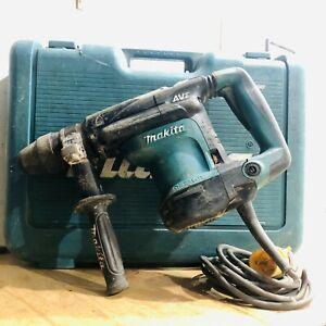 110v Makita HR3541FC SDS-Max AVT TESTED Rotary Demolition Hammer + Case + Handle