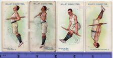 Gymnastic Horizontal Bar Exercises Physical Fitness Gym 4 100+ Y/O Ad Cards 9
