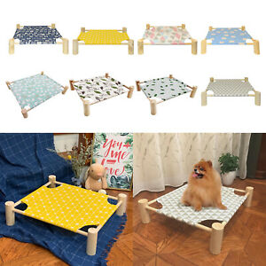 Portable Pet Cot For Elevated Raised Kitty Puppy Hammock Pet Supplies Family