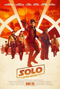 "Solo: A Star Wars Story (2018) Movie Silk Fabric Poster 11""x17"" 24""x36"""