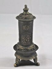 Victorian Parlor Stove Kerosene / Oil  small dollhouse T6028 resin 1/12 scale
