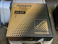 """NEW Crystal Mobilesound CPe 50 5.25""""  component speakers Old School car audio"""