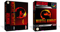 - Mortal Kombat SNES Replacement Game Case Box + Cover Art Work Only
