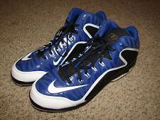 NWOT Mens Nike Air Swingman Metal Baseball Cleats Size 12 Black/Blue NEVER WORN