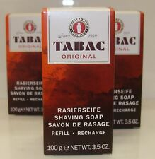 3x Tabac Original Shaving Soap Stick Refill 100g Multi-Buy