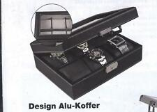 Safe 217-1 Caja para relojes Negro, ledergenarbt, para 6 RELOJES I Producto B