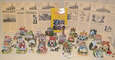 Liberty Falls Americana Houses Collection, Pewter Villagers & Accessories