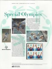 # 3771  SPECIAL OLYMPICS,  2003 Commemorative Panel