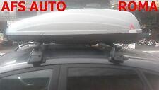 BOX AUTO PORTAPACCHI BAULE G3 KRONO 400 LT+BARRE FORD FIESTA 5 PORTE ANNO 2016
