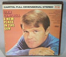 "7"" Reel Tape- Glen Campbell ~ A New Place in The Sun ~ 3.75 Ips Play Tested Bx Y"
