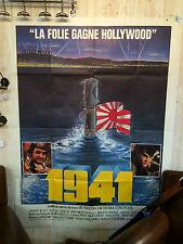 """Affiche de Cinéma"""" 1941"""" film de Steven SPIELBERG dim 160 x 120 cm"""