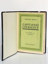 Capitaines courageux, KIPLING. Illustr. Guy ARNOUX. Delagrave 1936 Ex. numéroté