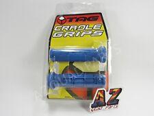 Tag ATV Handlebar Grips Blue Suzuki LT250 LT500 LT 250 500 Quadzilla Quad Sport