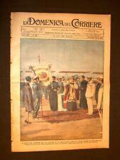 La Domenica del Corriere 14 luglio 1929 De Pinedo Wurzburg cerchioni Aviazione