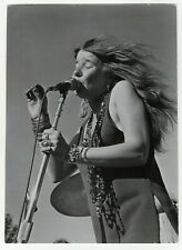 Janis Joplin Photo - Original Universal Studios Promo For The Film - Janis 1974