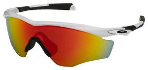 Oakley M2 XL Sunglasses OO9343-05 Polished White   Fire Iridium Lens