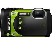 Olympus TG-870 16.0 Megapixel Waterproof Digital Camera Green