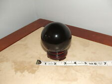 """10""""CIRCUMFERENCE INDIGO Crystal Ball Divination Scrying Fortune Telling HALOWEEN"""