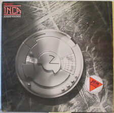 ADRIAN WAGNER The Last Inca LP Prog/Electronic w/ 16-pg. Booklet –on UK Charisma