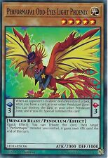 YU-GI-OH CARD: PERFORMAPAL ODD-EYES LIGHT PHOENIX - LEDD-ENC06 - 1ST EDITION