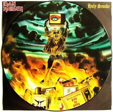 Iron Maiden Holy Smoke , All In Your Mind , Kill Me Ce Soir 1990 PICTURE DISC12""