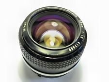 Nikon Nikkor 55mm 1:1.2 AI Lens -suit Mirrorless, micro 4/3, ILCE, Sony A7
