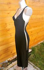 robe lacée lycra noire luxe VANNINA VESPERINI taille 38 NEUF ÉTIQUETTE V. 350€