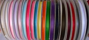 "100 yards Polyester Satin 7/8"" Ribbon 20 Colors USA Seller FREE SHIP SR78-Roll"