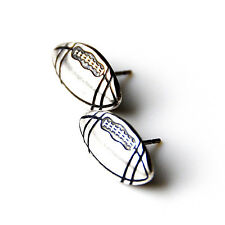 Football Earrings - Accessories - Women's Jewelry - Handmade - Gift Box