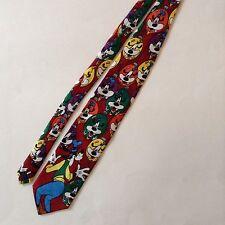 Disney Goofy Mickey Mouse Unlimited Mens Neck Tie Christmas Ornaments Balancine